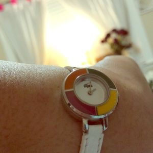 Lacoste ladies leather watch